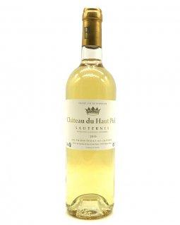 Château Haut Pick Sauternes - Blanc 2015